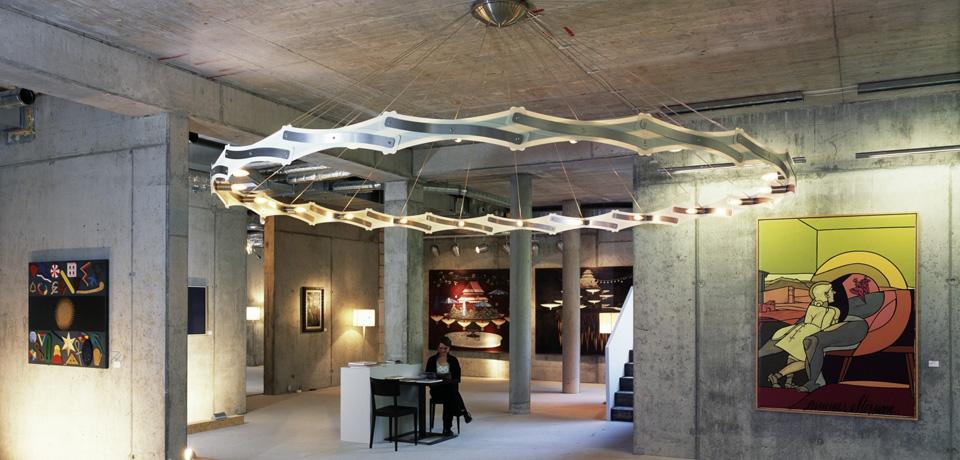 serien lighting // Galerie Figurative Kunst